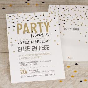 partytime feestkaart