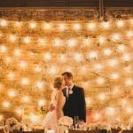 Sfeervolle trouwdecoratie - bruiloftverlichting