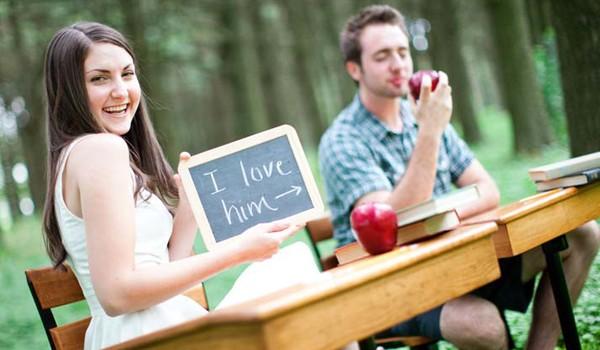 ideeën voor originele huwelijksfoto's