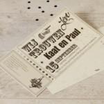 huwelijk - ticket