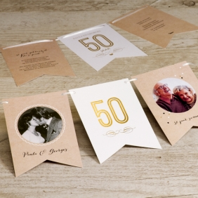 Geliefde 5 originele manieren om je gouden bruiloft te vieren - Tadaaz Blog #QW42