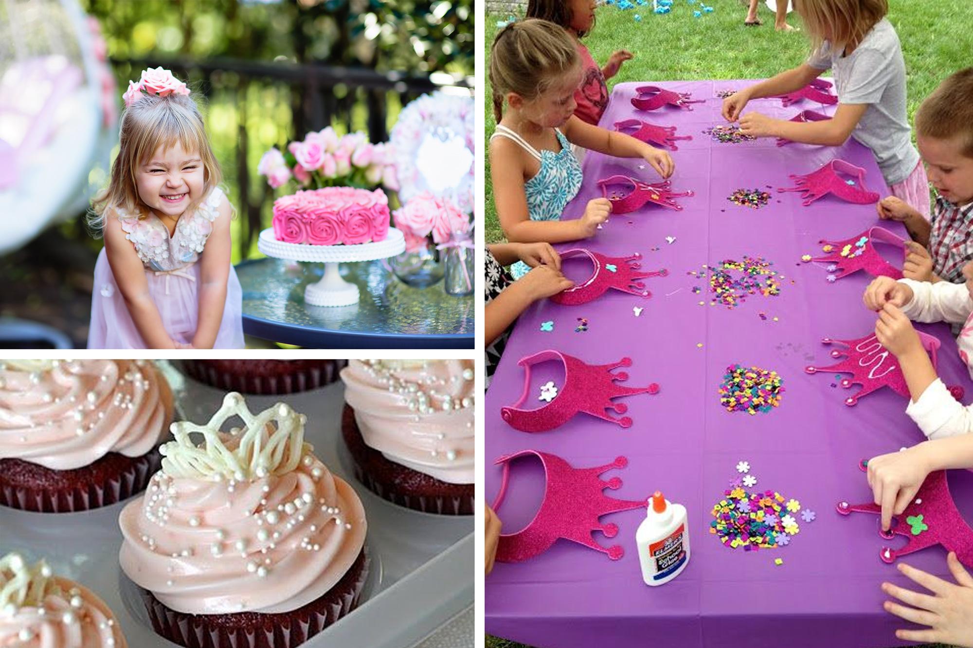 Organiseer het perfecte kinderfeestje voor je kleine meid for Leuke versiering
