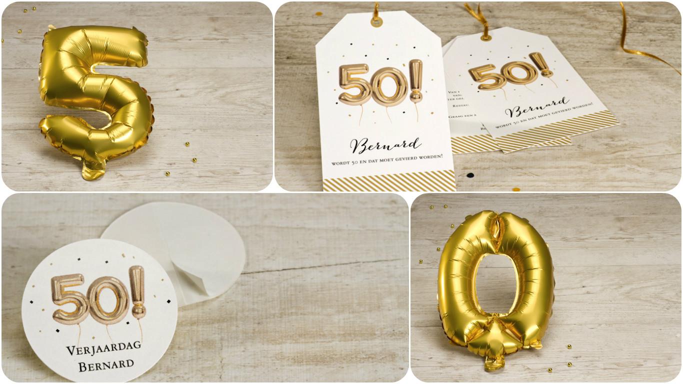 Abraham Sarah De Mijlpaal Van 50 Verjaardagen Bereikt