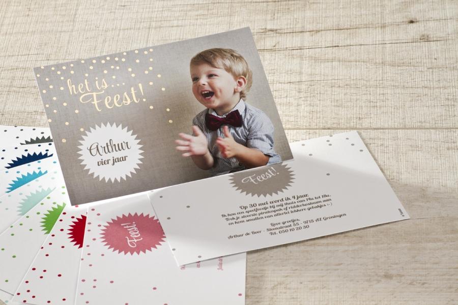 uitnodiging verjaardagsfeestje kind