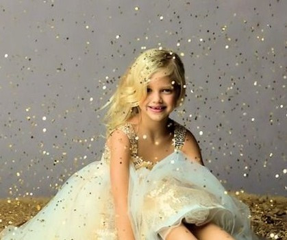 Communiefoto glitter