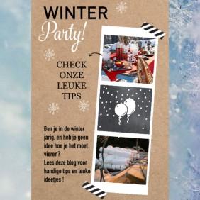 In de winter jarig?  Met deze tips maak je er een topdag van.